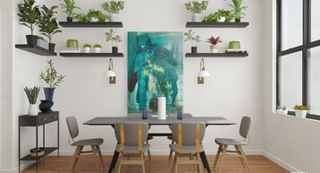 Online design Contemporary Dining Room by Jacky G. thumbnail