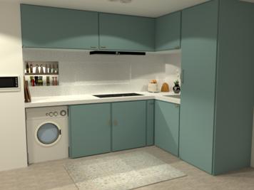 Online design Modern Kitchen by Venessa T. thumbnail