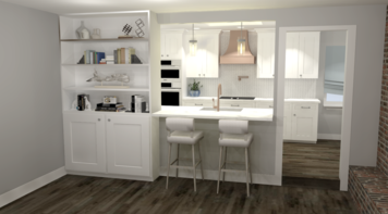 Online design Transitional Kitchen by Amber K. thumbnail