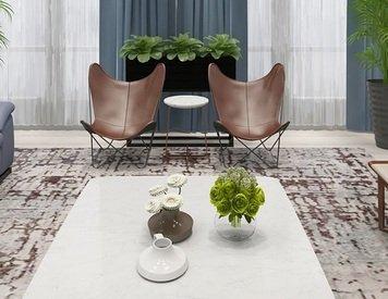 Online design Modern Living Room by Linde P. thumbnail