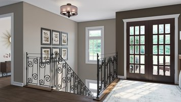 Online design Traditional Hallway/Entry by João A. thumbnail
