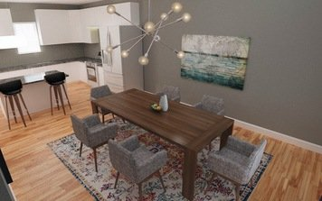 Online design Modern Combined Living/Dining by Jodi W. thumbnail