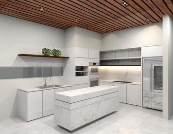Online design Modern Kitchen by Cristina G. thumbnail