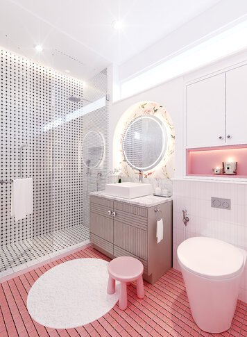 Online design Contemporary Bathroom by Edelyn P. thumbnail