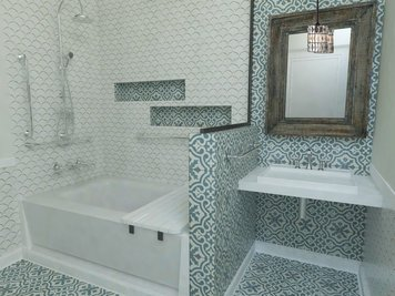 Online design Transitional Bathroom by Vera B. thumbnail