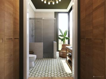 Online design Modern Bathroom by Kristin W. thumbnail