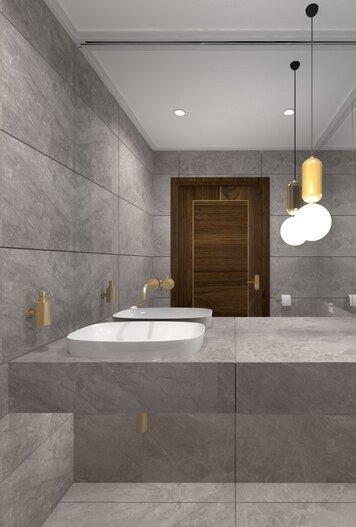 Online design Contemporary Bathroom by Agata M. thumbnail