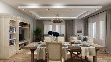 Online design Beach Dining Room by Keerthana V. thumbnail