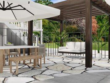 Online design Modern Patio by Aida A. thumbnail
