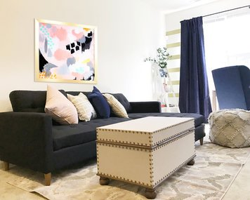 Online design Eclectic Living Room by Hannah C. thumbnail