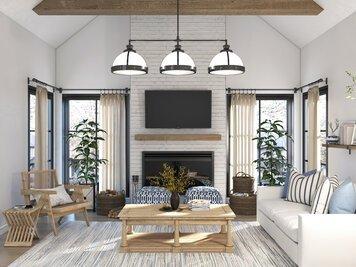 Online design Beach Living Room by Shofy D. thumbnail