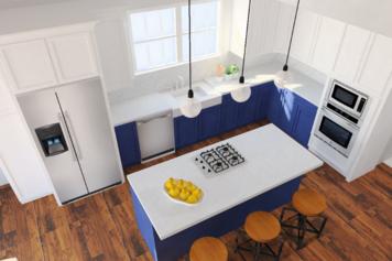 Online design Modern Kitchen by Jennifer A.  thumbnail