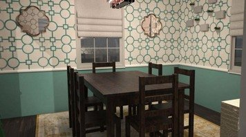 Online design Transitional Dining Room by Linnea T thumbnail