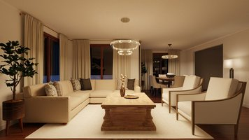 Online design Transitional Living Room by Tamna E. thumbnail