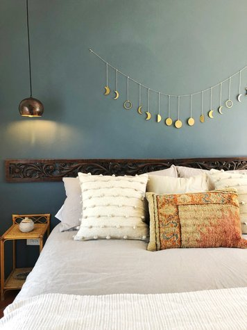 Online design Eclectic Bedroom by Christine M. thumbnail