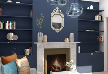 Online design Eclectic Living Room by Ani K. thumbnail