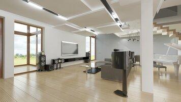 Online design Modern Living Room by Dominika Z. thumbnail
