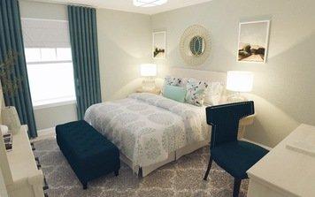 Online design Transitional Bedroom by Audrey P. thumbnail