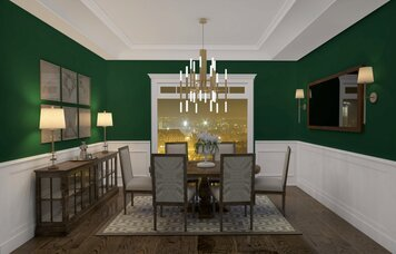 Online design Traditional Dining Room by RoWanna L. thumbnail