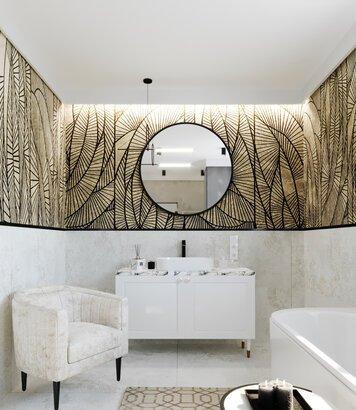 Online design Glamorous Bathroom by Kristina B. thumbnail