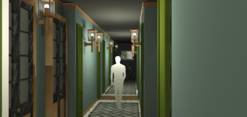 Online design Transitional Hallway/Entry by Amber R. thumbnail