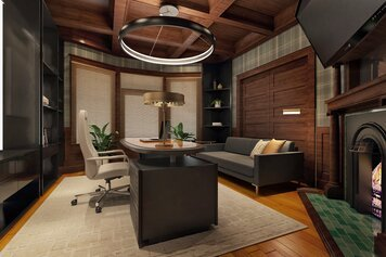 Online design Contemporary Home/Small Office by Ibrahim H. thumbnail