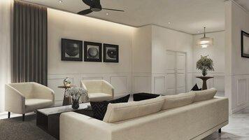 Online design Modern Living Room by Aida A. thumbnail