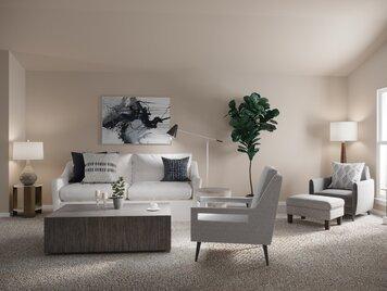 Online design Transitional Living Room by Basmah E. thumbnail