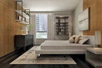 Online design Contemporary Bedroom by Ibrahim H. thumbnail