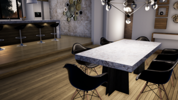 Online design Modern Dining Room by Kimberley S. thumbnail