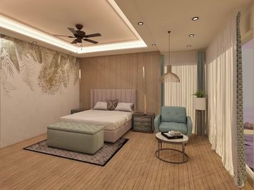 Online design Modern Bedroom by Anup T. thumbnail