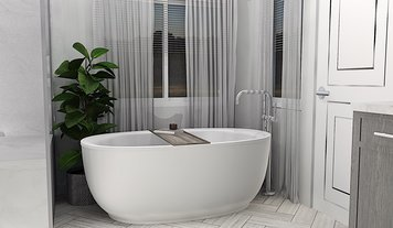 Online design Traditional Bathroom by Brooke S. thumbnail
