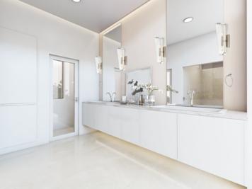 Online design Modern Bathroom by Lovisa K. thumbnail
