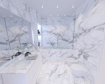 Online design Modern Bathroom by Yana K. thumbnail