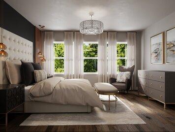 Online design Glamorous Bedroom by Courtney B. thumbnail