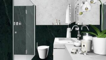 Online design Glamorous Bathroom by Ilaria C. thumbnail