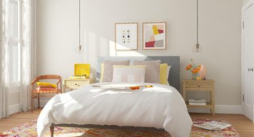 Online design Contemporary Bedroom by Laura S. thumbnail