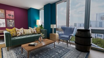 Online design Eclectic Living Room by KaSonndra L. thumbnail