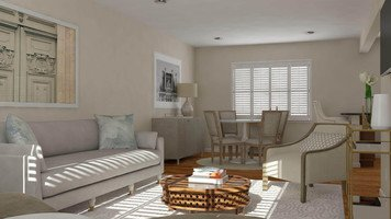 Online design Transitional Living Room by Lacie H. thumbnail