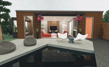Online design Modern Patio by Krystyna A. thumbnail