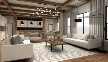 Online design Country/Cottage Living Room by Camila C. thumbnail