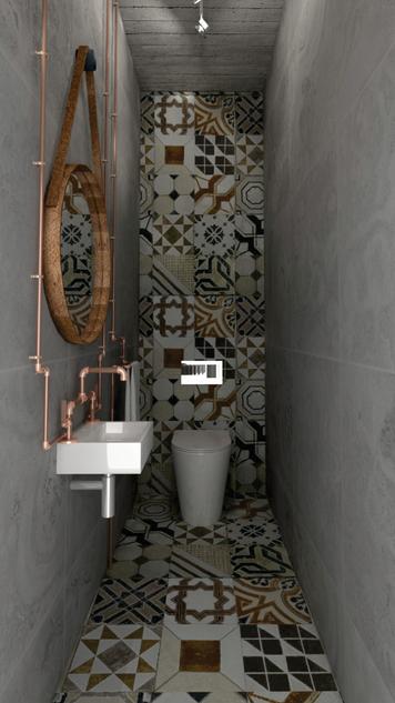 Online design Modern Bathroom by mujtaba m. thumbnail