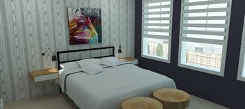 Online design Eclectic Bedroom by Merry M. thumbnail