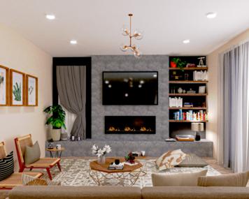 Online design Modern Living Room by Mini G. thumbnail