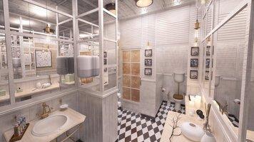 Online design Eclectic Bathroom by Rajna S. thumbnail