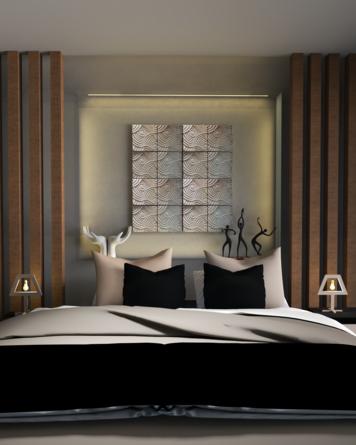 Online design Modern Bedroom by Venessa T. thumbnail