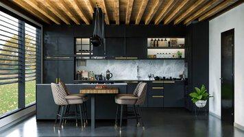 Online design Contemporary Kitchen by Farah E. thumbnail