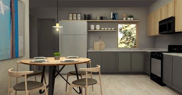Online design Contemporary Kitchen by Ani K. thumbnail