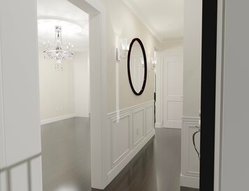 Online design Traditional Hallway/Entry by Krystyna A. thumbnail