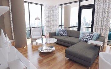 Online design Glamorous Living Room by Jodi W. thumbnail